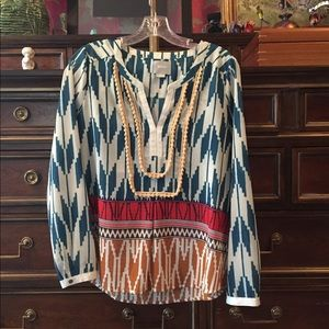 Anthropologie Maeve Rohanna Blouse